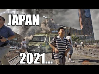 Apocalypse in Japan! Tokyo is in chaos! The strongest hail storm! Thunderstorms!