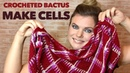 Вяжем КЛАССНЫЙ бактус в клетку! 😱Крючком! Crocheted Bactus by Nataly Masters