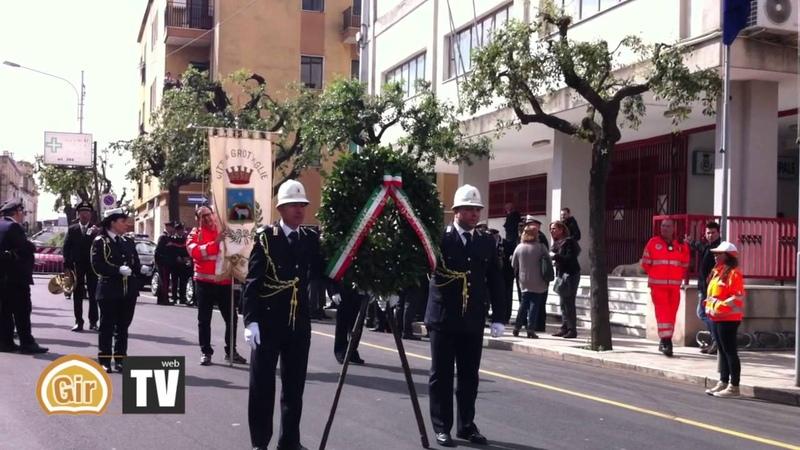 69° festa della Liberazione d'Italia 25 aprile 2014 a Grottaglie Gir
