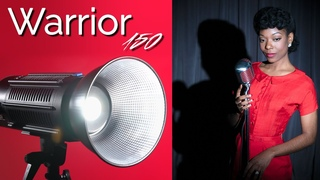 Warrior 150 - Powerful, Cinematic Lighting for Filmmakers and Photographers!