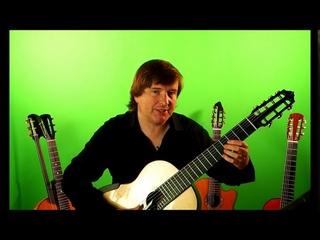 Семиструнная гитара. Урок 3 красивый аккомпанемент (Мохнатый шмель).