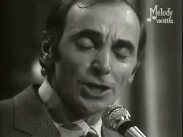 Charles Aznavour - Les Deux Guitares (Live) - Dve gitare