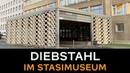 Schmuck und Orden aus Berliner Stasi-Museum geklaut