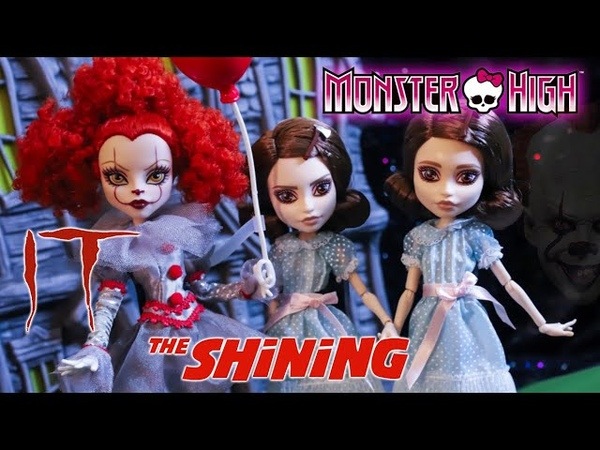 Stephen King-Inspired Monster High SKULLECTOR Dolls UNBOXING REVIEW! *Pennywise The Grady Twins*
