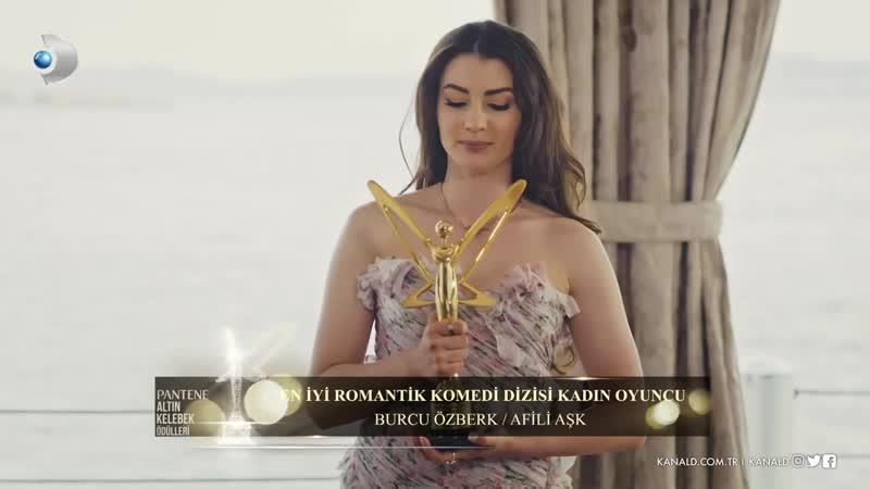En İyi Romantik Komedi Dizisi Kadın Oyuncu - Burcu Özberk Afili Aşk