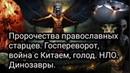 Пророчества православных старцев Госпереворот война с Китаем голод НЛО Динозавры
