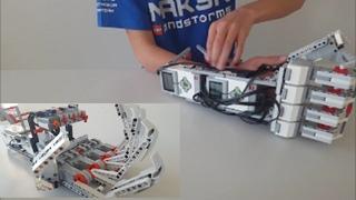 LEGO EV3 Robotic Arm   Cyborg Arm
