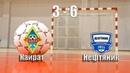 Обзор матча - Кайрат 3:6 Нефтяник 16.02.20