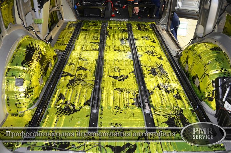 Шумоизоляция Volkswagen Multivan, изображение №15