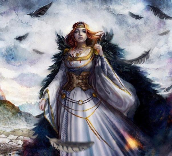 всего, фрейя богиня любви картинки каждый