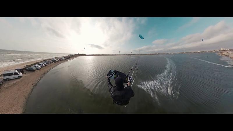 2020 Big Balls Ukrainian WOO League Kitesurfing Berdyansk Бердянск kiteloop challenge