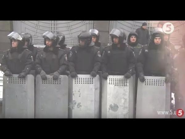 Революція Гідності унікальні кадри з іншого боку барикад російська зброя та медалі для силовиків