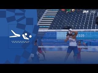 Пляжный волейбол (муж). Групповой турнир. Бразилия — Марокко.Обзор. Олимпиада-2020
