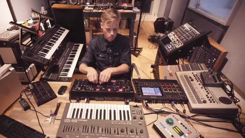 Joris Voorn Studio Jam Session