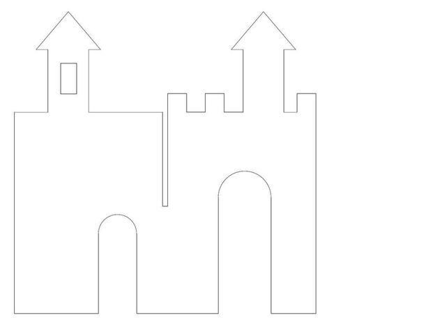ЗИМНИЙ ЗАМОК ИЗ КАРТОНА Картонный замок быстрой сборки выручит в любой ситуации. Принцип создания таких замков очень прост: два прямоугольника вставляются друг в друга по центру с помощью пазов.