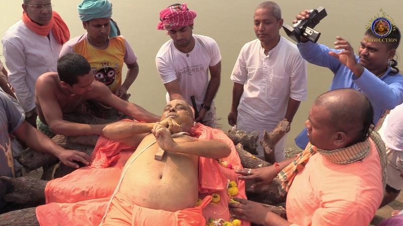 Funeral Pyre Cremation Ceremony of H.G. Jada Bharata dasa (ACBSP)