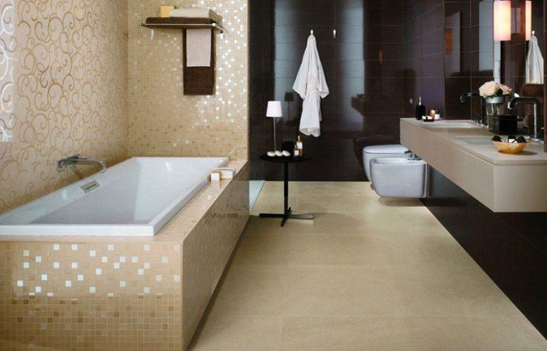 Примеры плитки в ванную