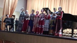 """Ансамбль русской песни """"Ниточка""""  """"Плачет белая берёза"""""""