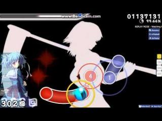 osu! Masayoshi Minoshima ft. nomico - Bad Apple!! Hard S