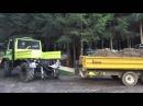 Unimog 1200 Mutterboden fahren 2