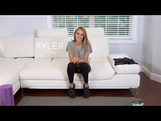 Kyler Quinn  - Fit18 - Initial casting ## POV skinny brunette teen tanned sex porn interview tight shorts creampie порно кастинг