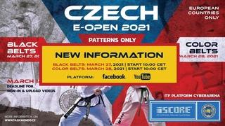 2021 Czech e-Open, Black Belts