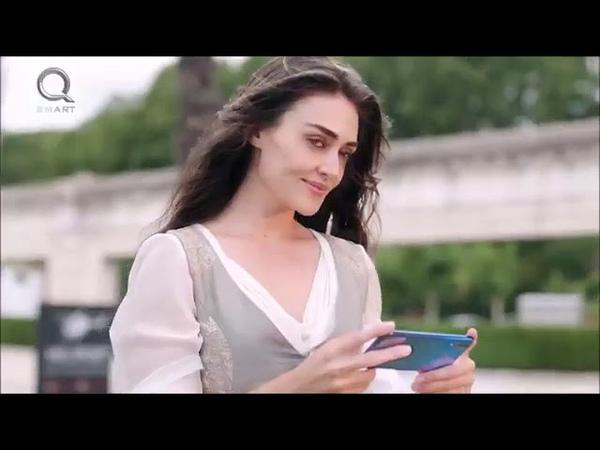Halime Sultan Esra Bilgic in Action for Q mobile ad Halime Sultan of Dirilis Ertugrul appeared