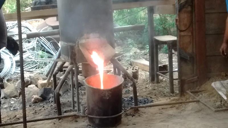Fundição de ferro fundido metalúrgica santa luzia
