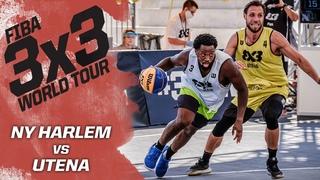 NY Harlem v Utena | Полная игра | FIBA 3x3 World Tour - Debrecen Masters 2020