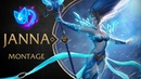 JANNA MONTAGE 300 IQ SUPPORT COMPILATION LEAGUE OF LEGENDS