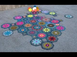 FIESTA CAL part 2 - Mosaic Crochet Tutorial