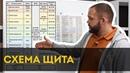 Схема проект электрощита Проводка в квартире своими руками