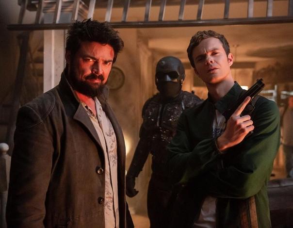 Где-то на съёмках второго сезона «Пацанов» Пятый эпизод уже в сети.