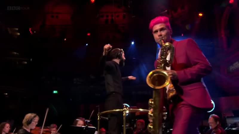 Metropole Orkest = Moanin' by Charles Mingus with Leo Pellegrino baritone saxophone Christian Scott trumpet