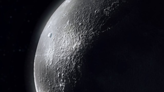 👽 A huge UFO flies on the surface of the moon - TIMELAPSE (CGI)