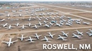 Aerial Tour of Roswell s aircraft boneyard Short Film