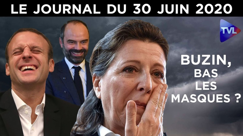 Agnès Buzyn la chute imminente Le JT du mardi 30 juin 2020