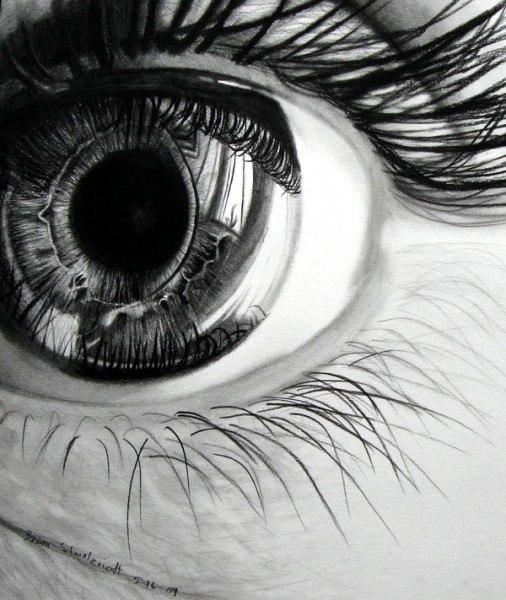 drawings of eyes - 736×872