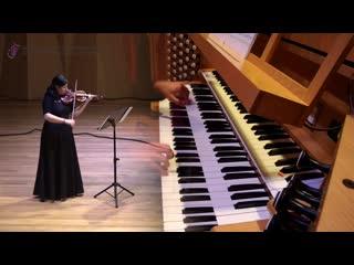 Прасковья Таникова и Александр Новоселов - Vivaldi Concerto for violin and organ d moll, RV 541