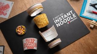 Nissin Cup Noodles, but it's Gundam... sorta | Beat Building a Food Replica (ASMR)