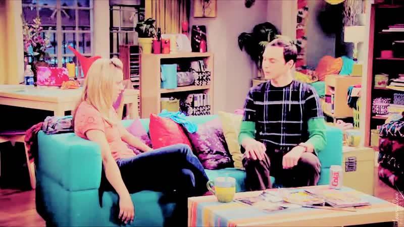 Теория большого взрыва The Big Bang Theory Шелдон и Пенни Skip a heartbeat