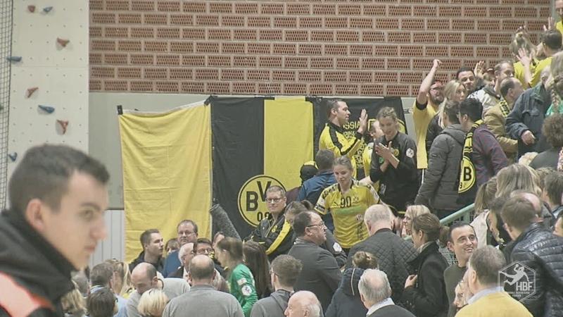 Damen Handball Bundesliga Bor Dortmund SG BBM Bietigheim