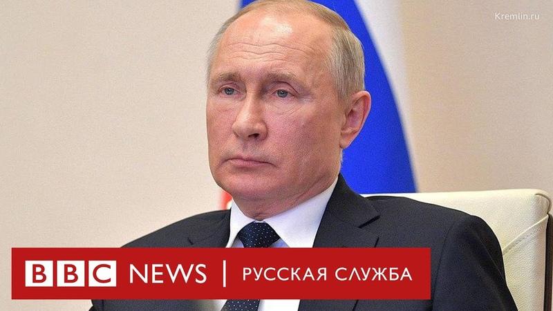 «И печенеги ее терзали, и половцы, — со всем справилась Россия». Путин о победе над коронавирусом