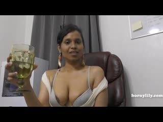 Horny Lily Fuck Indian Aunty Peeing
