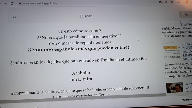 ¡ALERTA MANIPULACIÓN DESCARADA del CENSO