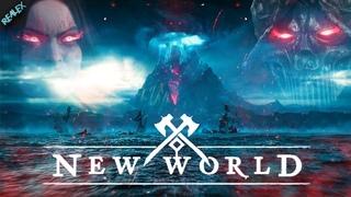 53+ УРОВЕНЬ | лук + копьё | ЗБТ | ДЕНЬ 9 ● New World ●