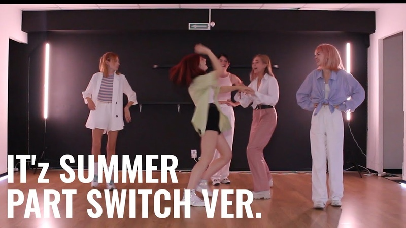 DANCE PRACTICE PART SWITCH ITZY 있지 IT'z SUMMER Dance Cover by training for the ballet potter