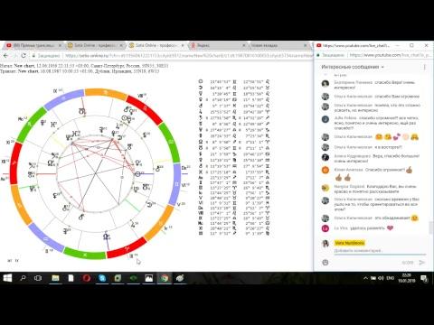 Астрология для начинающих Как построить и читать натальную карту Курс по астрологии