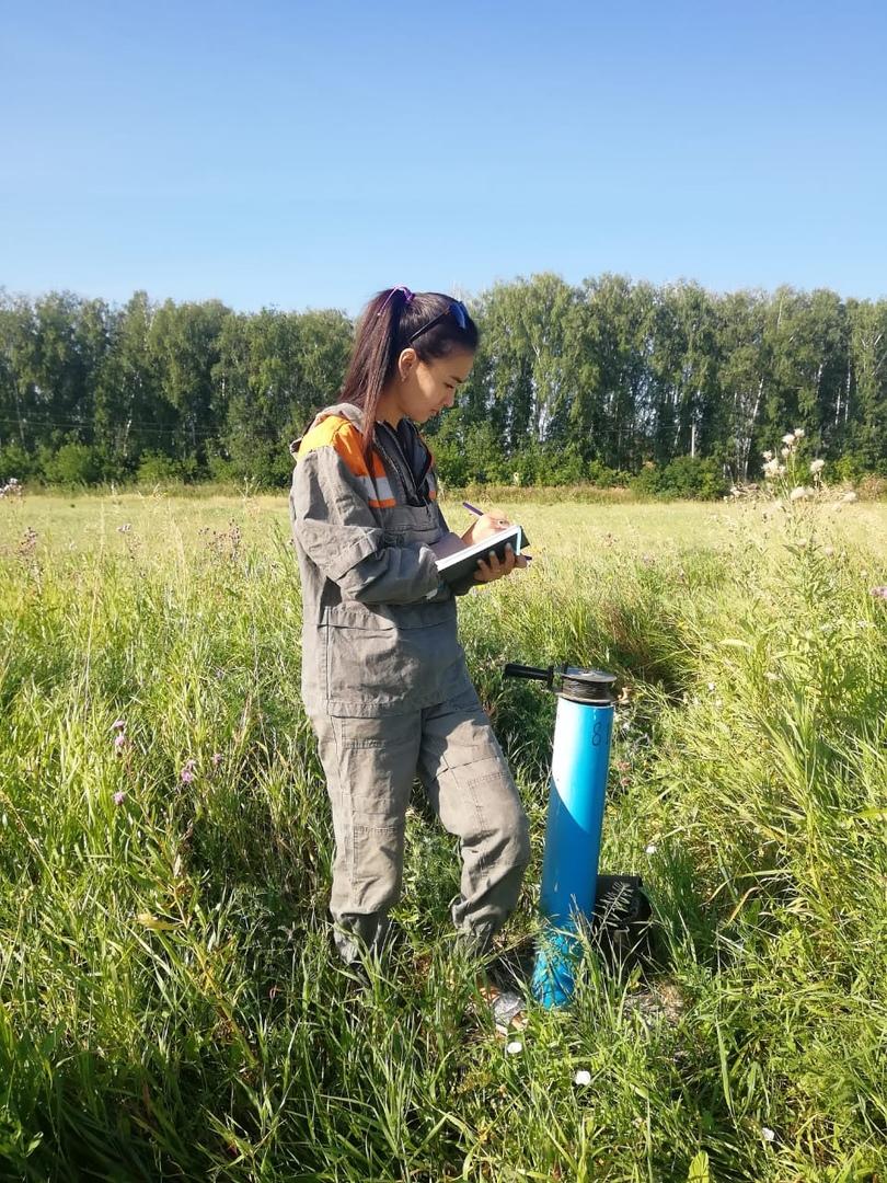 Алия Саржанова мониторинг скважина