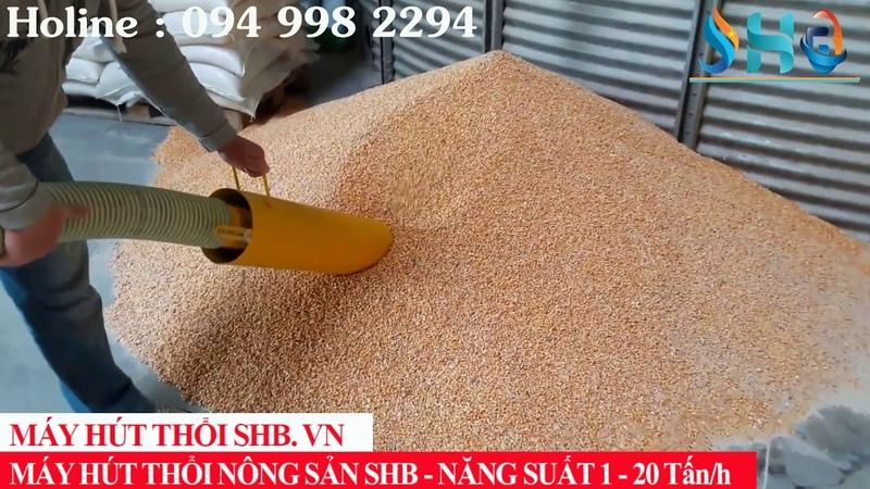 Giải pháp vận chuyển thổi nông sản lúa ngô đậu cà phê sử dụng n nhân công